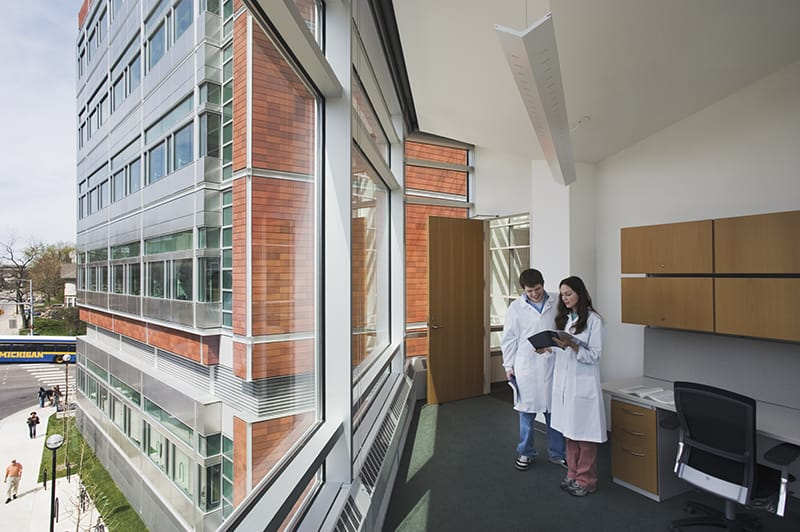 State-of-the-art laboratory and research facility for the University of Michigan Medical School