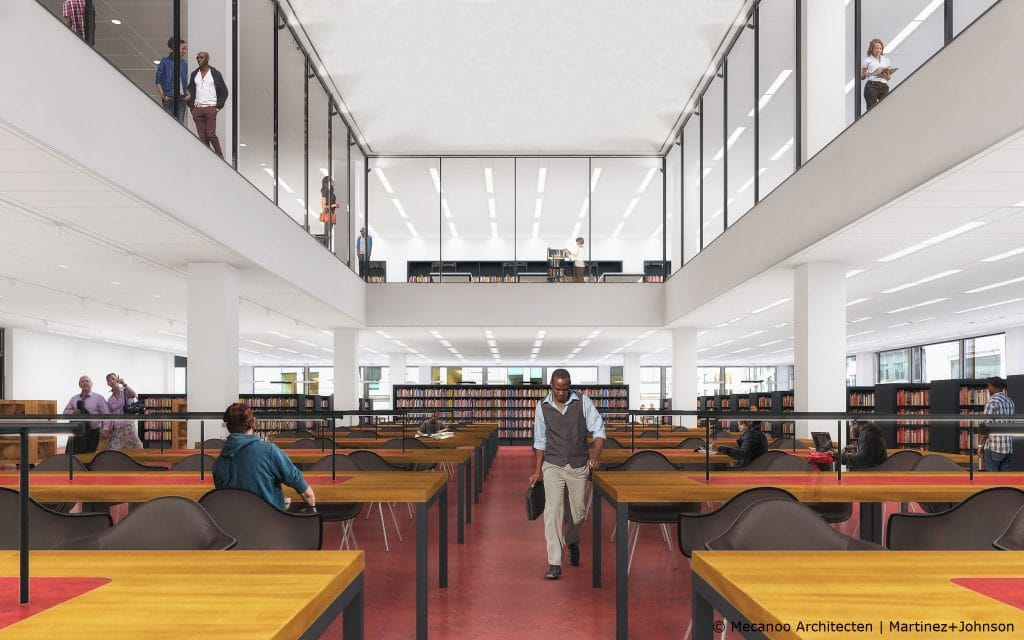 Martin Luther King, Jr. Memorial Library Modernization