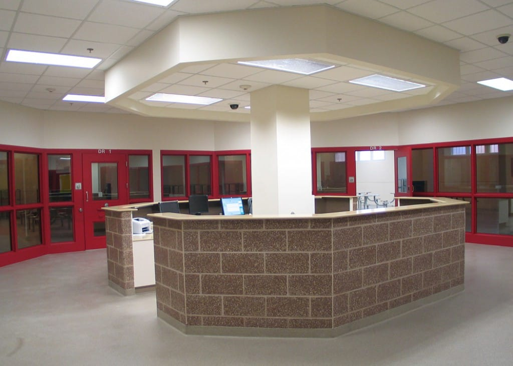 Gilbane renovated and constructed the addition for the Racine County Law Enforcement Center