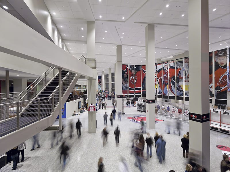 Prudential Center New Jersey Devils Arena - Gilbane