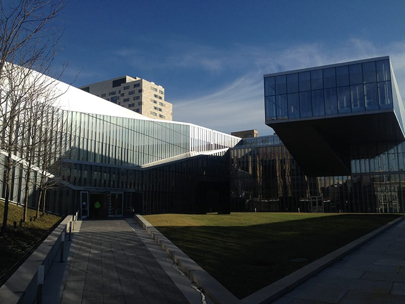 University of Pennsylvania Krishna P. Singh Center for Nanotechnology Exterior