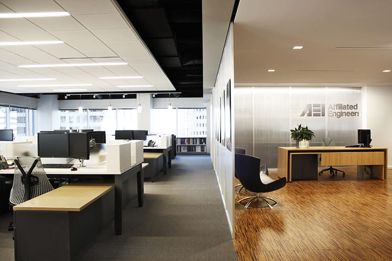 Downtown Chicago tenant fit-out project