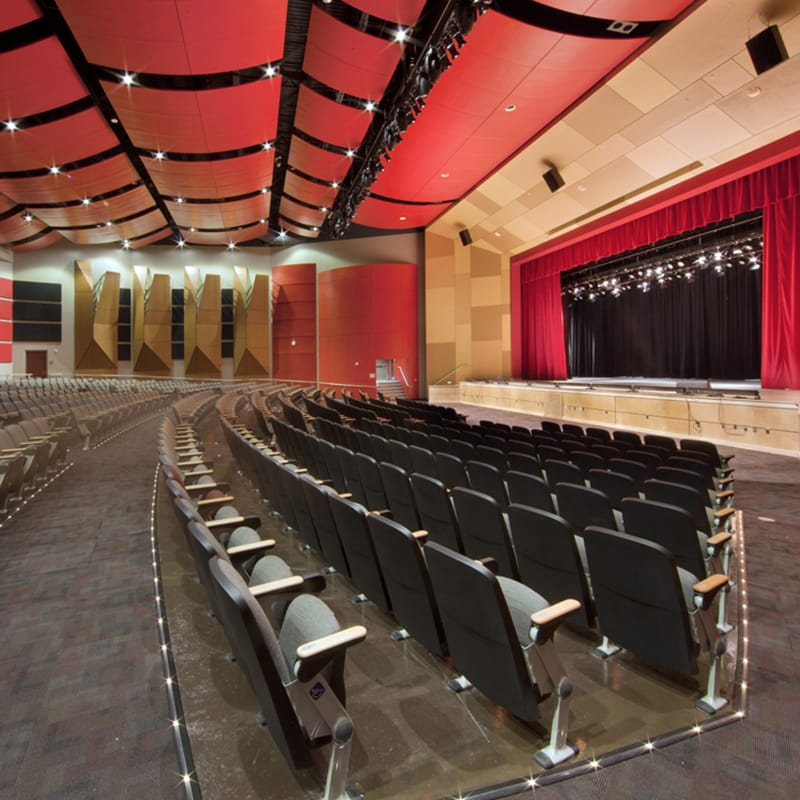 Interior state of the art auditorium