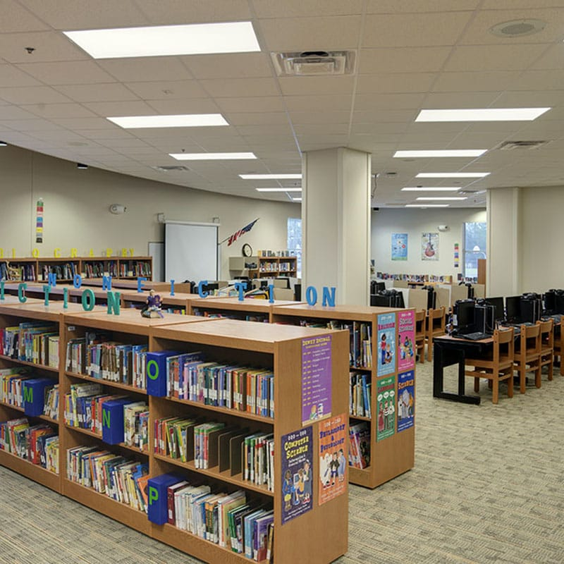 Renovated media center