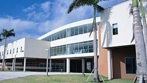 Broward College Classroom Building entryway