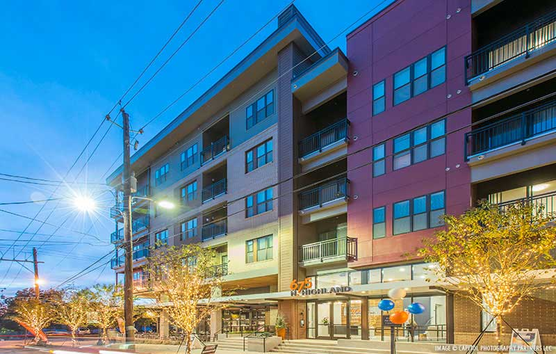675 N  Highland Avenue Mixed-Use Luxury Residential Complex