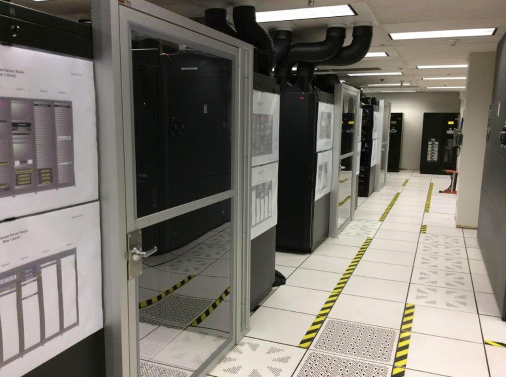 Gilbane renovates mission critical infrastructure for AAA data center.