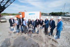 Frankel Enterprises Groundbreaking of $145 Million Luxury Condominium Project in Palm Beach Gardens