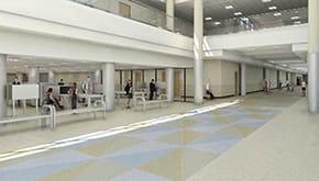 Columbus Regional Airport Authority Concourse rendering