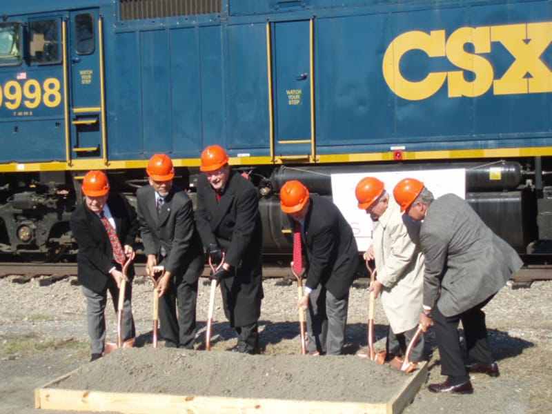 CSX Program Ground Breaking