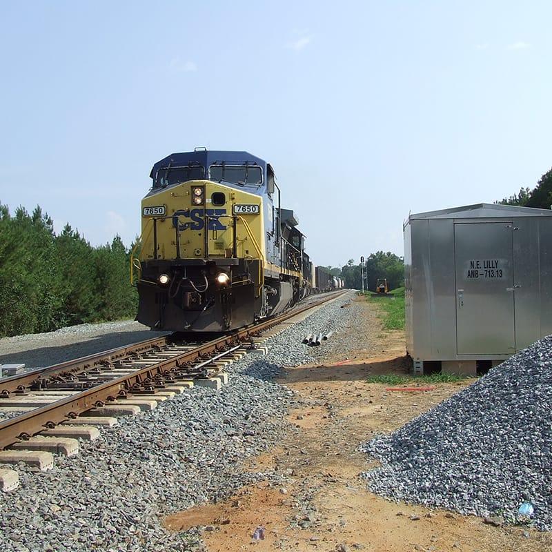 CSX Rail Line