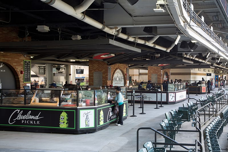 New Concessions Featuring Local Specialty Restaurants