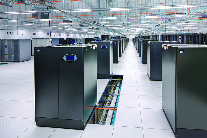 Tier III data center was constructed in 17 months
