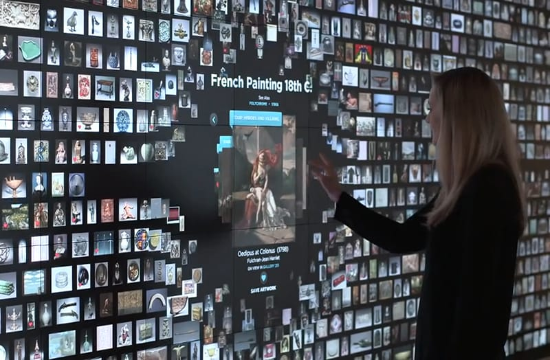 Explore Gallery One, an innovative visual gallery blending art, technology and interpretation to inspire museum visitors.
