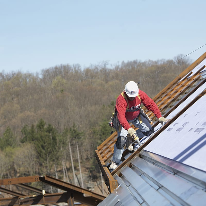 Camp Carroll, Republic of Korea: Repair & Replace Roof Building 605