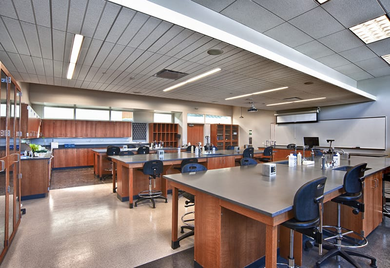Health Careers & Technology Building achieved LEED Gold Certification