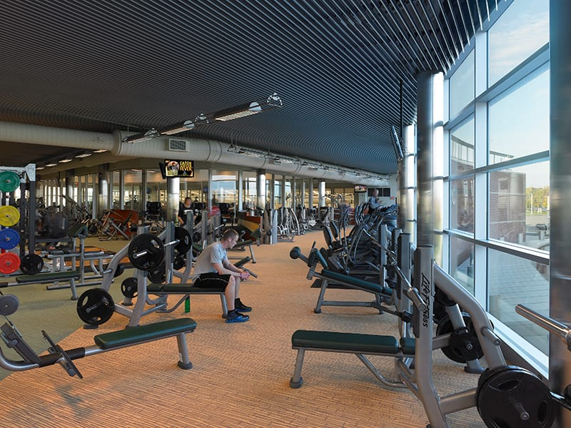 Student and faculty exercise room