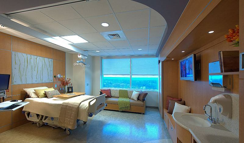 Anne Arundel's Addition and Renovation added 292 new patient beds at Inova Health Systems South Patient Tower Transition