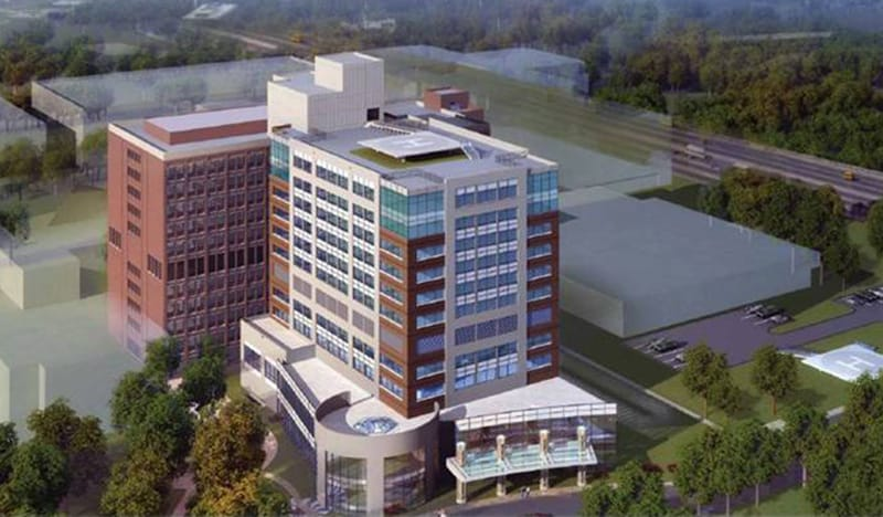 The South Patient Tower added 216,000 SF of space for Inova Health Systems