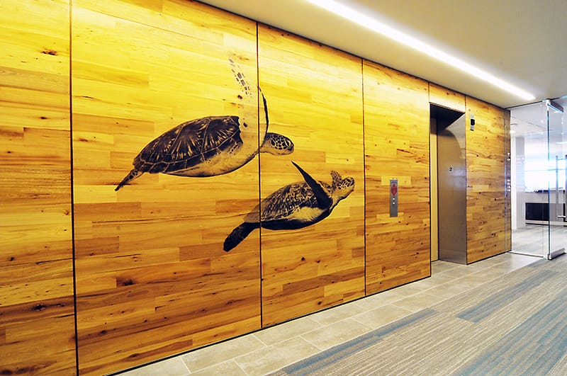 Gilbane renovated interior offices for the US Fish and Wildlife headquarters.
