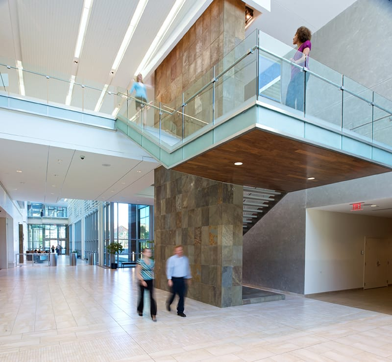 Grange Mutual Insurance Corporate Headquarters Monumental Stair and Lobby