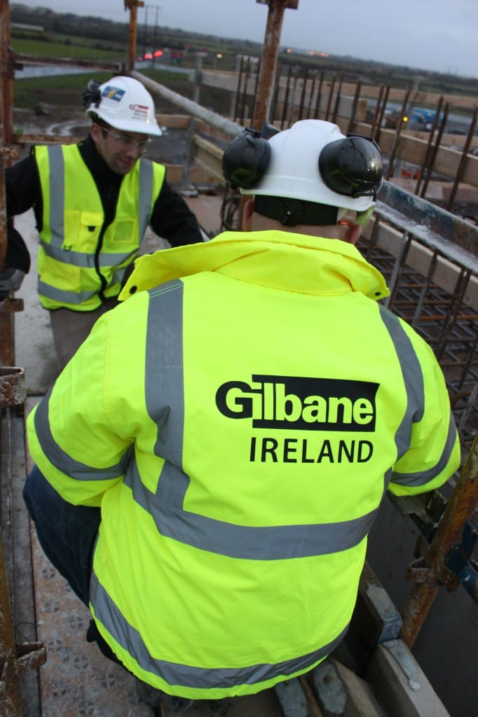 Gilbane's team in Ireland implement lean construction methods.