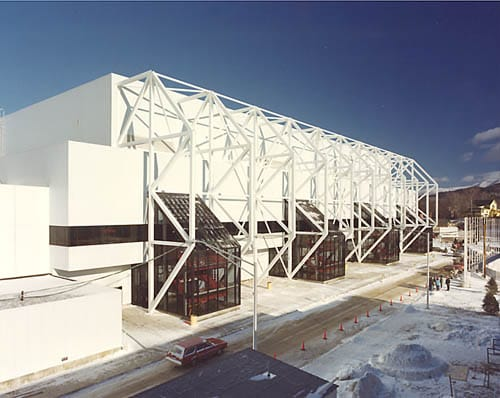 XIII Winter Olympics Facilities