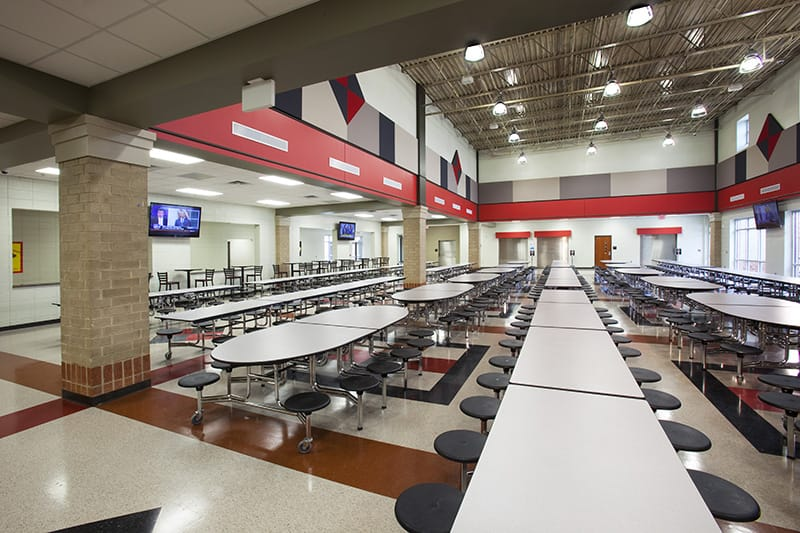 Liberty High School accommodates over 670 students