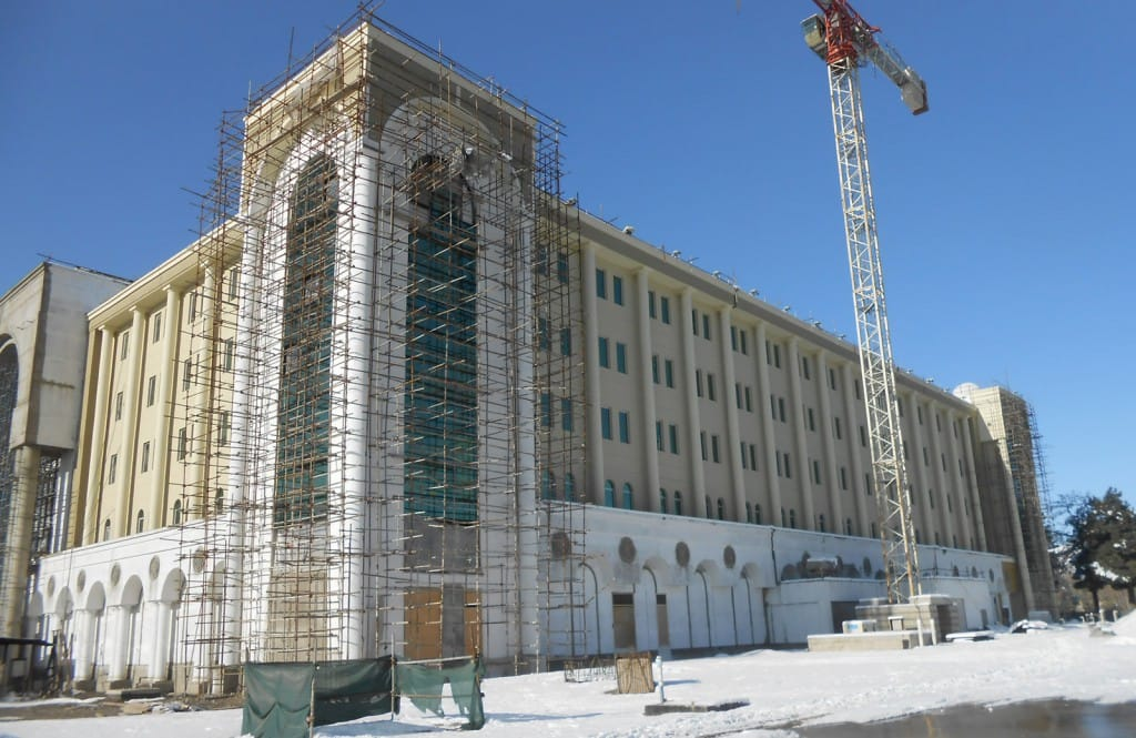 Final Construction - Ministry of Defense Headquarters