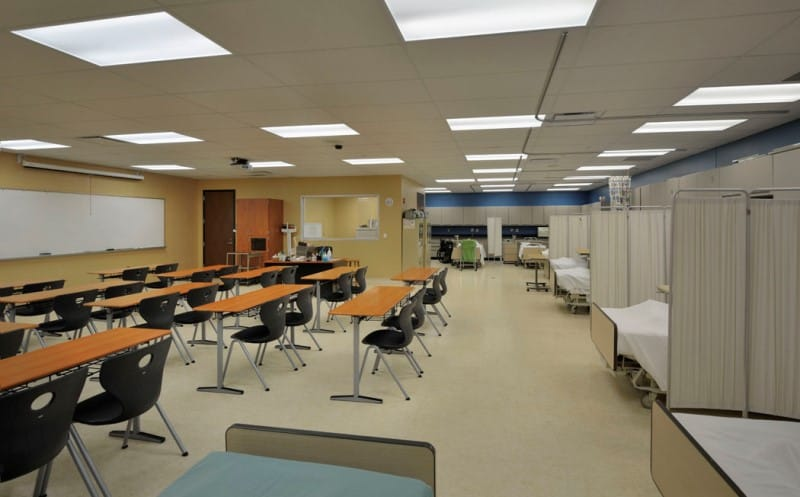Floor plan revisions in both facilities are designed to better accommodate current and new student programs