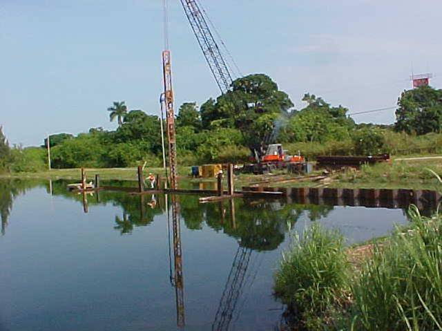 Outfall Canal Remediation Action Former Homestead AFB