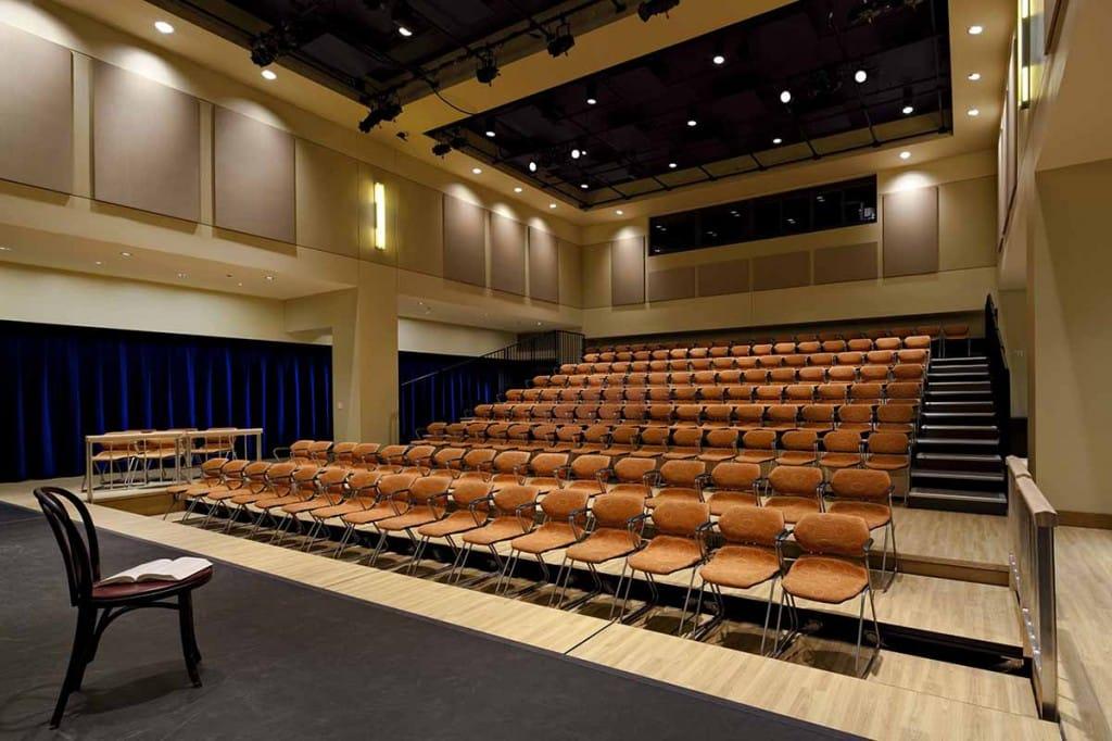 Richmond Performing Arts Committee Richmond CenterStage Interior Black Box
