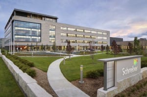 Schreiber Foods Home Office and Global Technology Center project in Green Bay, WI