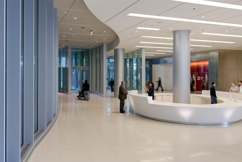 University of Chicago Medicine Center for Care and Discovery interior photo shot