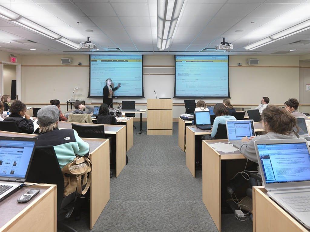Virginia Commonwealth University Snead Hall, School of Business and East Hall, School of Engineering Engineering Lab