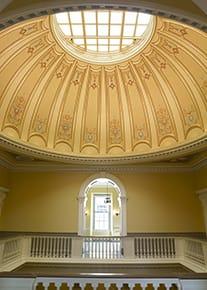 Virginia Capitol Vertical Dome
