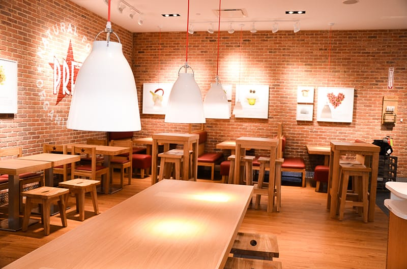 The project consisted of the interior fit-out of approximately 3,300 SF of restaurant space.