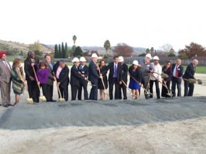 Gilbane Groundbreaking on Evergreen CCD Milpitas USD