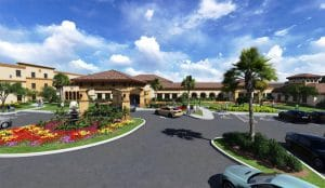 Rendering of Omega Communities Cypress Point – A Senior Lifestyle Community